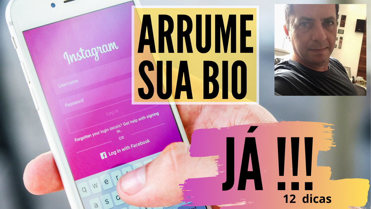 como configurar a bio do Instagram